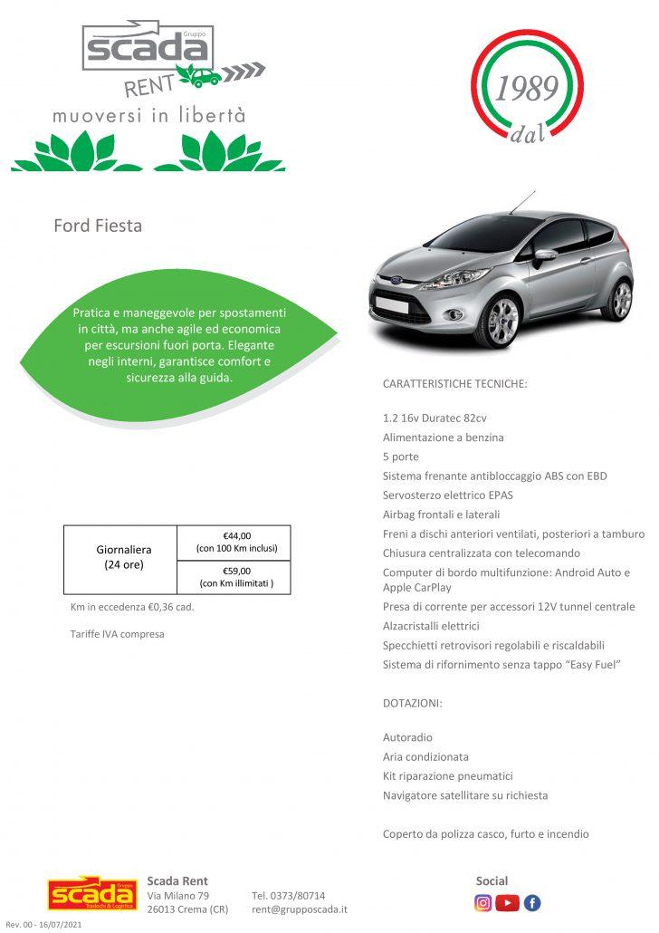 Autovettura Ford Fiesta
